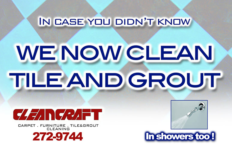 We know clean tile and grout